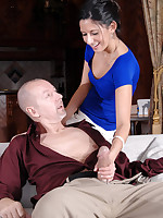 Anilos milf Nikki Daniels sucks and fucks her hubby until he cums