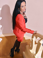 Big Porcelain Proxy Prick Pleases her Pussy - Solo Noon Lovin' free photos and videos on DDFNetwork.com