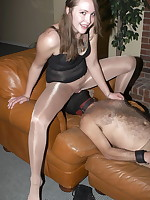 Mistress Svetlana pantyhose domination